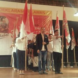 Relawan Poros Milenial Sahabat Sandi Uno, Dideklarasikan