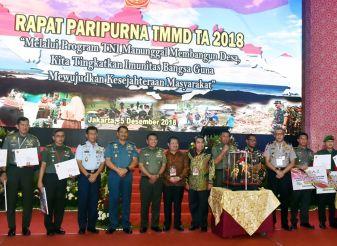 Program TMMD Bentuk Partisipasi TNI Dalam Pembangunan
