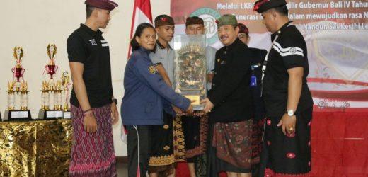 Buka Lomba Ketangkasan Baris Berbaris Purna Paskibraka Indonesia Bali ke-IV