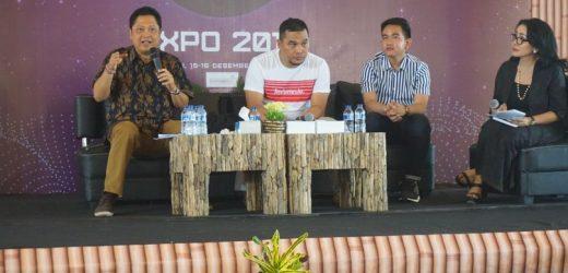 Walikota Rai Mantra Motivasi Anak Muda Di SETC Expo 2018