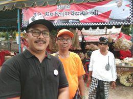 Jelang Galungan, Pasar Murah Ranting PDI Perjuangan Desa Sidakarya Diserbu Warga