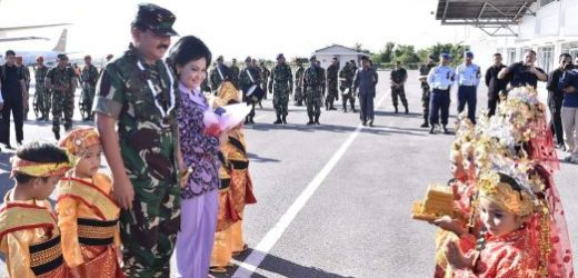 Panglima TNI Kunjungan Kerja ke Natuna