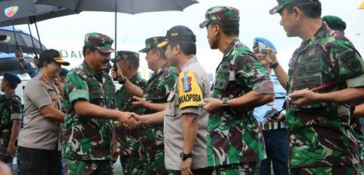 Panglima TNI Lakukan Kunjungan Kerja ke Malang, Jawa Timur