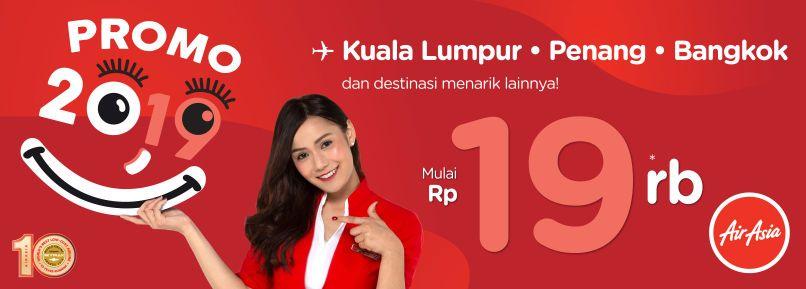 Sambut tahun 2019 dengan 1,9 Juta Kursi Promo dari AirAsia