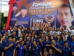 Totalitas Menangkan Jokowi-Ma'ruf Amin, NasDem Bali Bentuk Kopenwil