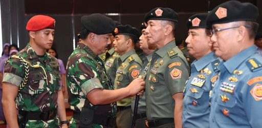 Panglima TNI Pimpin Sertijab Kapuspen TNI