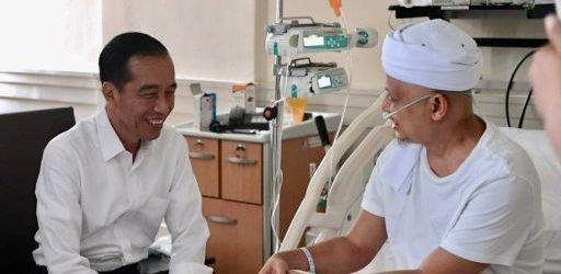 Presiden Doakan Kesembuhan untuk Ustaz Arifin Ilham