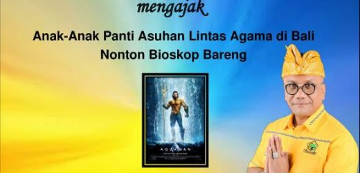"""Hari ini, Togar Situmorang Ajak Anak-anak Panti Asuhan Nobar Film """"Aquaman"""""""
