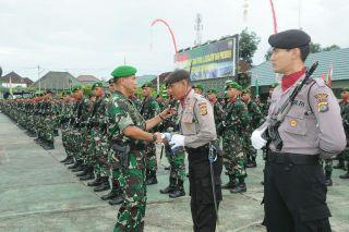 Kodam IX/Udayana Latih 107 Kader Pengamanan Pemilu