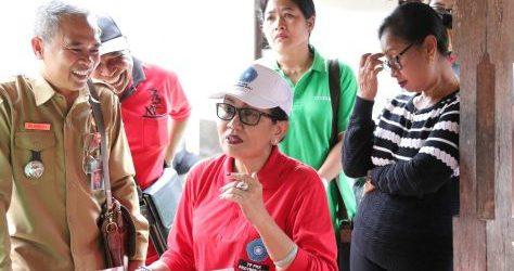 """Sukseskan Gerakan HATINYA PKK, Ny. Putri Suastini Koster Dorong Semua """"Natah"""" Rumah di Bali Ditanami Sayur dan Obat-Obatan"""