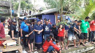 Sampaikan Pesan Politik Bergembira, Nyoman Laksmitawan Wikartana Gelar Lomba Mancing