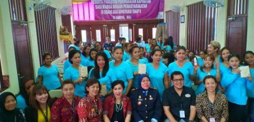 PERWIRA Dan DNI Skin Care Gelar 'Beauty Talkshow' di Lapas Perempuan Kelas IIA Denpasar