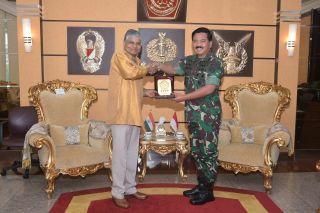 Panglima TNI Terima Kunjungan Kehormatan Dubes India