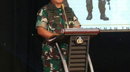 Panglima TNI: TNI-Polri Harus Bersinergi dengan Seluruh Komponen Bangsa