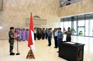 Panglima TNI Pimpin Sertijab Aslog dan Askomlek Panglima TNI