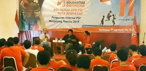 PSI Kuatkan Pendidikan Politik, Genjot Kader Masif Terjun ke Masyarakat