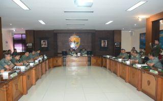 Tim Wasrik Post Audit Itjenad Kunjungi Kodam IX/Udayana