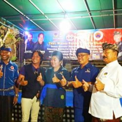 I Kadek Sujanayasa Bangun Silahturahmi Kuatkan Soliditas Dukungan