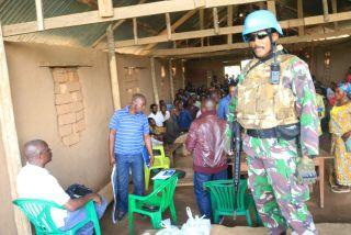 Ciptakan Perdamaian Antar Suku, Satgas TNI Konga XXXIX-A Berhasil Pertemukan Antar Suku di Republik Demokratik Kongo