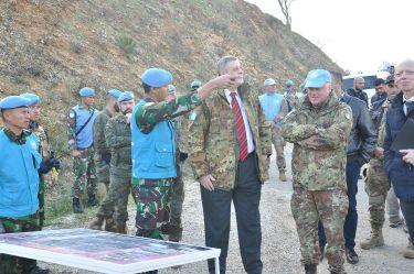 Tinjau Area Operasi Pasukan Garuda di Perbatasan Lebanon-Israel, Koordinator Khusus PBB: Pertahankan Profesionalitas Sebagai Pasukan Perdamaian PBB
