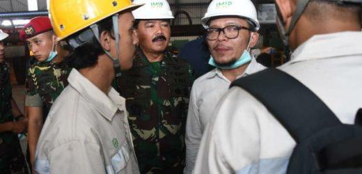 Panglima TNI Tinjau Kondisi Wilayah Morowali, juga Telusuri Isu TKA Bekerja di PT IMIP