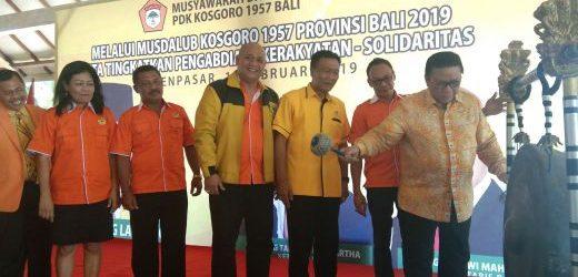 Komang Takuaki Banuartha Terpilih Sebagai Ketua PDK Kosgoro 1957 Provinsi Bali