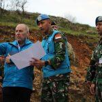 Kunjungan Delegasi Penasehat Keamanan Kerajaan Inggris, Daerah Operasi Pasukan Garuda Indobatt di Lebanon Jadi Perhatian Dunia
