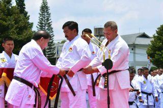 Nahkodai PB FORKI 2019-2023, Panglima TNI langsung Terima Anugerah Tingkat DAN 7 INKAI