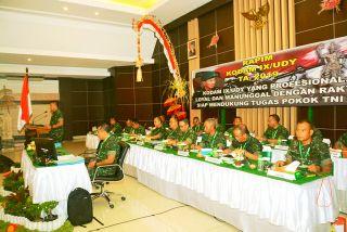 Dari Rapim Kodam IX/Udayana, Pangdam: Susun Renstra secara Komprehensif, Bangun Soliditas Kodam IX/Udayana