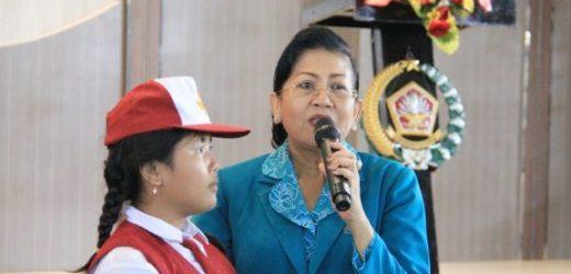 Gerakan Indonesia Menabung, Ny. Putri Suastini Koster: Tanamkan Gemar Menabung Sejak Usia Dini