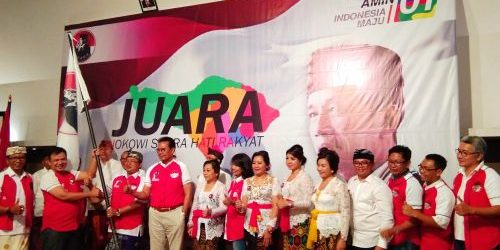 Made Ramia Adnyana Pimpin Relawan JUARA Provinsi Bali, Tekad Menangkan Jokowi-Ma'ruf Amin di Pilpres 2019