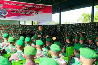 Pantau Perbatasan Wilayah RI-RDTL, Pangdam IX/Udayana: Jaga Kekompakan dan Selalu Waspada