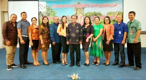 Made Sumardana Nahkodai DPK Perbarindo Kota Denpasar