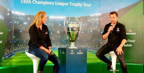 Tropi Liga Champions Eropa Mampir ke Bali Ditemani Legenda Sepak Bola Dunia, Alessandro Del Piero