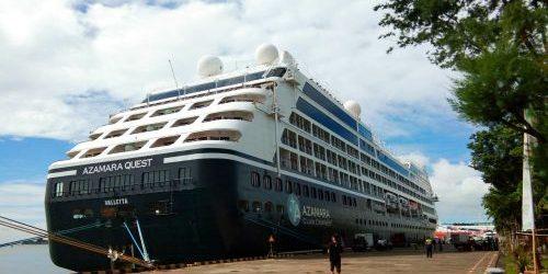 Pelabuhan Benoa Disinggahi Dua Kapal Pesiar Panjang Hampir 200 Meter