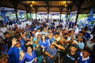 Dua Hari di Bali, AHY Optimis Suara Demokrat Terangkat