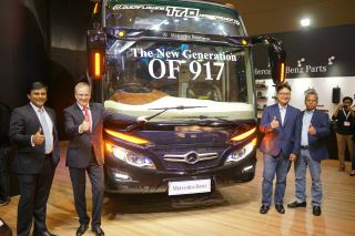 DCVI Wujudkan Semangat Global di Busworld South East Asia 2019