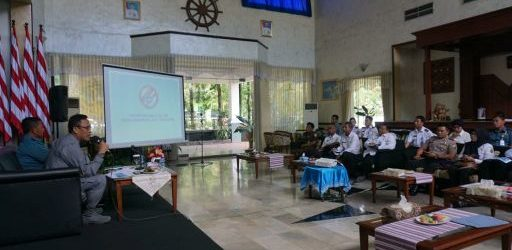 Kunjungan Kerja Bakamla RI ke Pangkalan TNI AL