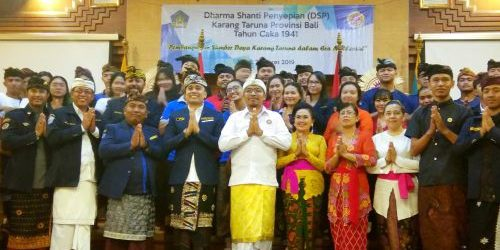 Buka Dharma Shanti Penyepian 1941 Karang Taruna Bali, Supadma Rudana: Karang Taruna Agen Solusi Komprehensif