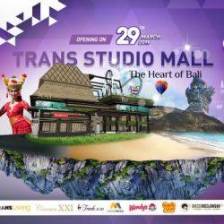 Tercanggih di Asia Tenggara, Trans Studio Mall Bali Dibuka 29 Maret 2019