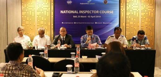 """Angkasa Pura I (Persero) Bandara Ngurah Rai Gandeng Dirjen Perhubungan Udara Gelar """"National Inspector Course"""""""