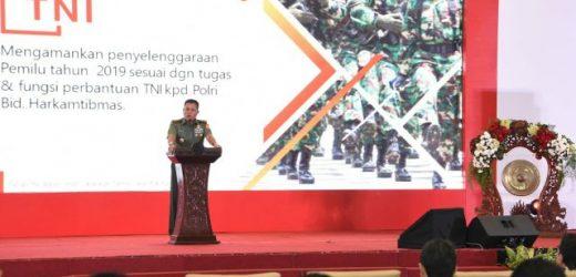 TNI Siap Amankan Pemilu 2019, Tegaskan Kembali Netralitas TNI