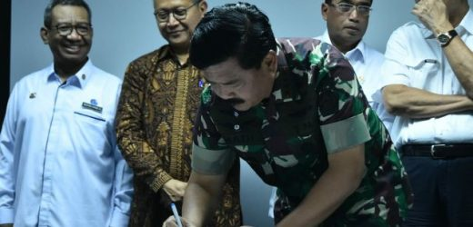 TNI, Kemenko Kemaritiman, Kemenhub, Tandatangani Nota Kesepahaman Bersama