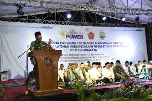 Doa Bersama dengan Masyarakat Banten, Panglima TNI: Jangan Lakukan Ujaran Kebencian