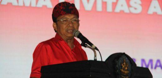 """Visi """"Nangun Sat Kerthi Loka Bali"""", Gubernur Koster Ajak Semeton Krama Bali Ikut Wujudkan Bali Era Baru"""