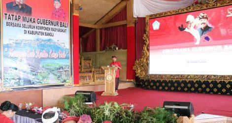 Didukung Faktor Alam, Gubernur Koster Komit Bangun Bangli Sebagai Wilayah Konservasi