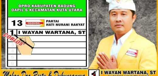Beri Akses Bagi Pejalan Kaki, I Wayan Wartana: Desa Tibubeneng Butuh Trotoarisasi