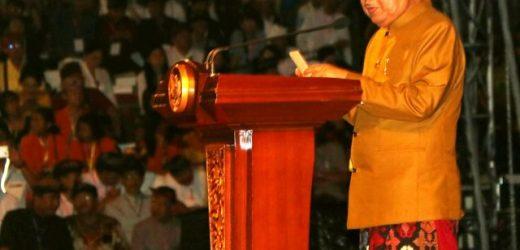 Dharma Shanti Nyepi Tahun Caka 1941, Wapres JK: Ajak Umat Hindu Gunakan Hak Pilih pada Pemilu 17 April 2019