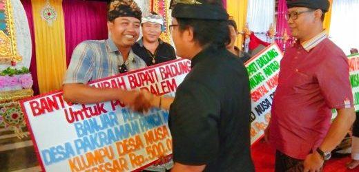 Bantuan Hibah Badung Cair di Nusa Penida, I Made Satria: Ini Bukti Atas Keraguan Selama Ini