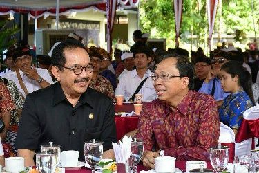 Dari Ramah Tamah Gubernur Bali dengan LPD, Gubernur Koster: Perda Desa Adat Makin Perkuat Kedudukan LPD
